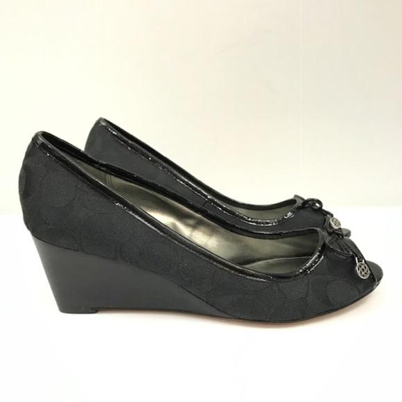 3f9dfbfb723 aliexpress coach black wedge shoes 264c6 98a92